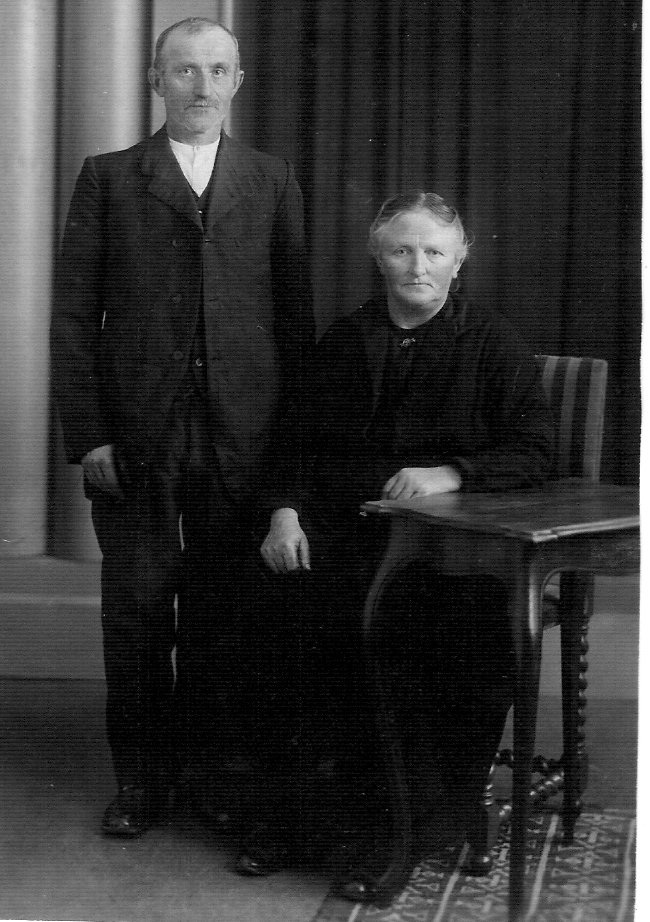 Opa and Oma Buikema